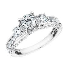 wedding rings 3 stone trellis ring setting 5 stone ring meaning