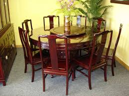 Lazy Susan Dining Room Table Dining Table With Lazy Susan Iron Wood