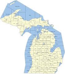 Michigan Railroad Map by Northern Michigan Wow Com