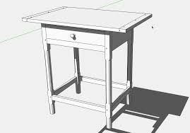 how to engineer an expanding tabletop finewoodworking
