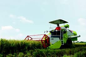 crop tiger 40 terra trac combine harvester claas