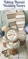 unique diy fishing favors for your wedding if you love fishing