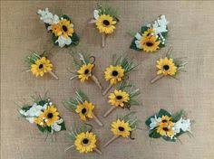 sunflower corsage sunflower corsages mini sunflower wrist corsage for the