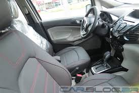 volkswagen caribe interior interno ford ecosport ford ecosport production model interiors