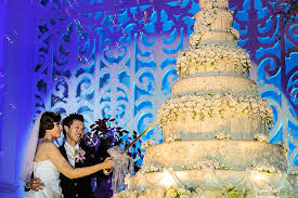 wedding cake semarang elva hendrick wedding semarang wedding photographer