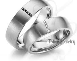 mens wedding bands cheap 10k his and hers bands talliejewelry