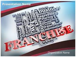 franchise word powerpoint template is one of the best powerpoint
