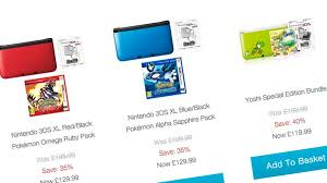 new 3ds xl black friday 3ds xl price cut on nintendo uk store vg247