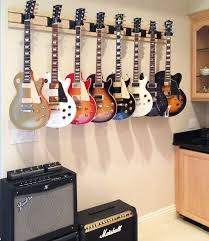 How To Build A Guitar Cabinet by Best 25 Guitar Storage Ideas On Pinterest Guitar Display