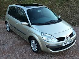 renault scenic 2007 57 plate 2007 renault scenic mpv 1 6 vvt dynamique panoramic
