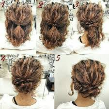 easy sexy updos for shoulder length hair perfectly imperfect messy hair updos for girls with medium to long