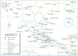 Mexico State Map by List Of Mexican States By Gdp At Map Major Cities In Mexico