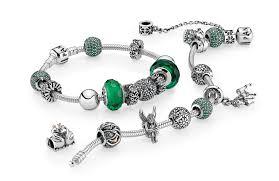 pandora charm bracelet green royal portfolio