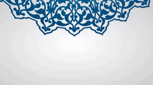 islamic ornament background with loop 4 by zc