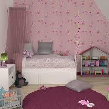 chambre barbapapa papier peint vinyle girly coloris barbapapa lilas