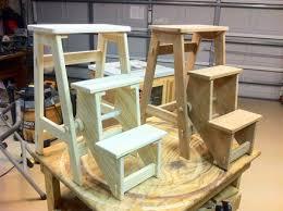 folding step stool by woodshaver tony c lumberjocks com
