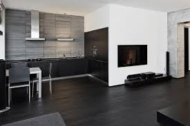 Black And White Laminate Floor Black U0026 White Kitchens A Timeless Contrast For Your Home See