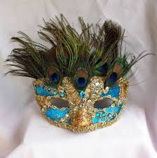 peacock masquerade masks blue peacock masquerade mask by daragallery on deviantart