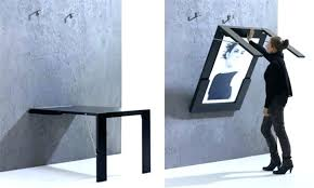 Folding Wall Mounted Table Wall Mounted Fold Up Desk Tiny Apartment Above The Fold Wall