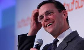 Dan Sabbagh: It is only a matter of time before James Murdoch becomes chief executive to his father's chairman Continue reading. - James-Murdoch-007