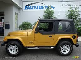 jeep gold 2003 inca gold metallic jeep wrangler x 4x4 13223862 gtcarlot