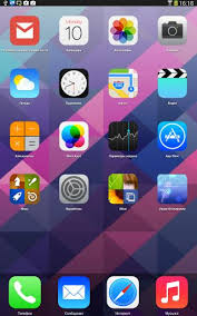 ios launcher apk ios 7 launcher apk 1 3 free personalization app for android