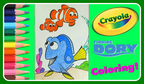 frozen giant coloring pages finding dory crayola giant coloring dory nemo u0026 marlin fun