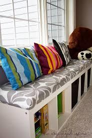 Ikea Benches Playroom Toy Organizer Ikea Bench The Organized Mama