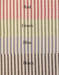 Ticking Stripe Curtains 24 Tier Curtains Ticking Stripe Clearance