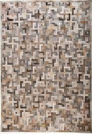 Grey Area Rug Rugs Curtains Modern Leather Brown Grey Metallic Area Rug For