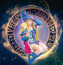 dark magician yu gi oh cosplay by scarlettskywalker on
