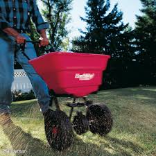 how to use a fertilizer and seed spreader family handyman