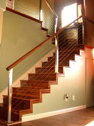 Metal Stair Banister Interior Contempo Image Of Home Interior Decoration Using