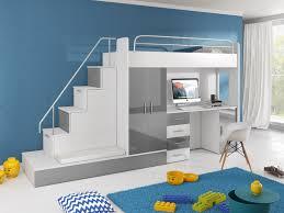 Schreibtisch Hochglanz Hochbett Tomi Mit Schreibtisch Schrank Und Regal Möbel Für Dich