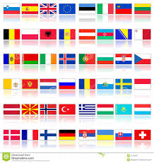 Flags Of European Countries Flags Of European Countries Stock Illustration Image 11193157
