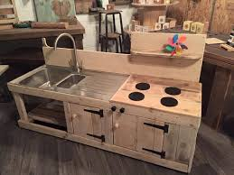 Pallet Kitchen Furniture Diy Pallet Mud Kitchen About Fresh Sets How To Make A Kitchen