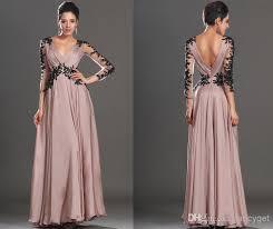 black appliqued long prom dresses gorgeous women sandy chiffon