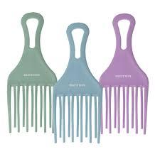 afro comb prong afro comb beter accesorios y cosméticos para la