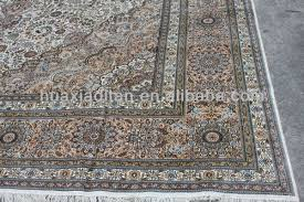Kashmir Rugs Price Handmade Muslim Kashmir Silk Rug Carpet For Whloesale Factory
