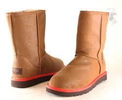 men ugg australia classic short leather boot 1003950 chestnut 100