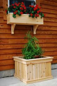 planters marvellous white modern planter wood planter box plans
