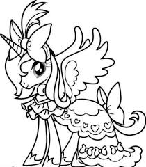 cartoon unicorn coloring page free download