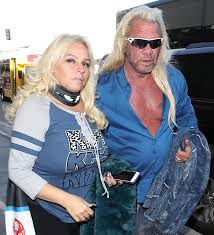 dog the bounty hunter s wife beth has lost her voice after