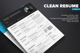 Resume Wizard Template Clean Resume Template Free On Behance
