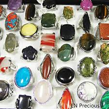 stone rings jewelry images 3pcs big natural stone rings wholesale jewelry lots new free