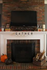 mantel ideas for brick fireplace photo brick mantel fireplace