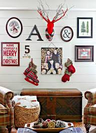 Christmas Deer Mantel Decorations by 358 Best Winter Christmas Images On Pinterest Christmas Ideas