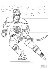 connor mcdavid coloring page free printable coloring pages