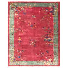 Deco Rugs Chinese Art Deco Rug For Sale At 1stdibs