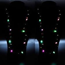 flashing christmas light necklace flashing christmas light bulb necklace led holiday glow flashing